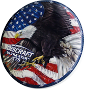 Фрисби Discraft SuperColor Ultra-Star Eagle